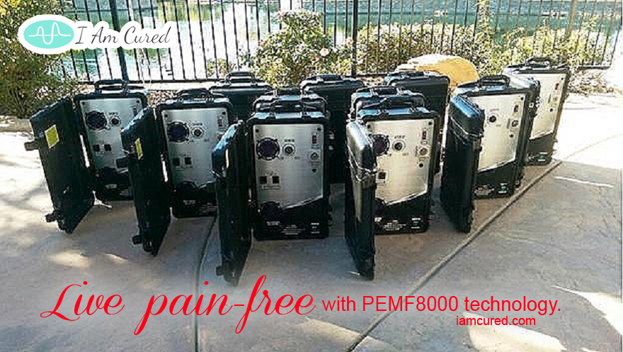 PEMF8000 Technology - Live Pain Free